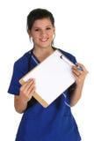 Freundlicher Arzt Stockfoto