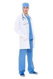 Freundlicher Doktor in der Uniform Lizenzfreie Stockfotos
