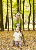 Freundlicher Herbst Stockbild
