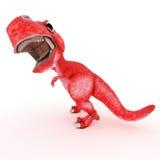 freundlicher Karikaturdinosaurier Stockfotografie