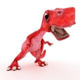 freundlicher Karikaturdinosaurier Stockbild