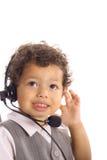 Freundlicher Kundendienst des Kindes Lizenzfreie Stockbilder