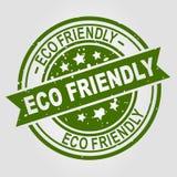 Freundlicher Vektorstempel Eco Stockbild