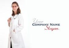 Freundlicher weiblicher Doktor Lizenzfreies Stockfoto