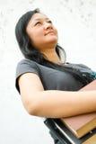 Freundlicher weiblicher Student lizenzfreies stockbild