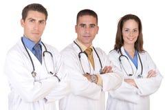 Freundliches Ärzteteam - Gesundheitspflegearbeitskräfte Lizenzfreie Stockfotos
