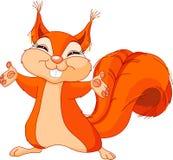 Freundliches Eichhörnchen Stockfotos