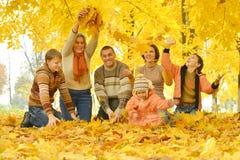 Freundliches family Lizenzfreies Stockfoto