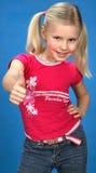 Freundliches, glückliches Mädchen Lizenzfreie Stockfotografie