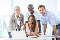 Freundliches Team Lizenzfreies Stockfoto