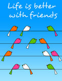 Freundschaft Stockfotos