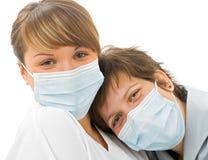 Freundschaft mit zwei Doktoren Lizenzfreie Stockbilder