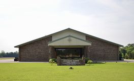 Freundschafts-Hafen-Evangelium-Kirche, Millignton, TN Stockbild