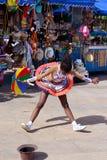 Frevo舞蹈家 图库摄影