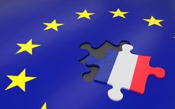 Frexit and EU Stock Photos