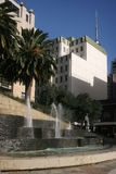Freyberg place Auckland. Fountains at freyberg place auckland Royalty Free Stock Images