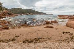 Freycinet国家公园塔斯马尼亚岛 免版税库存图片