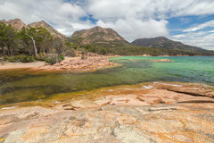Freycinet National Park: Honeymoon Bay Stock Photo
