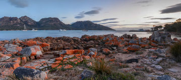 Freycinet national park Royalty Free Stock Photo