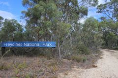 Freycinet National Park Tasmania Australia stock photo
