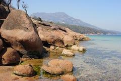 Peninsula Freycinet, Tasmania, Australia Stock Images