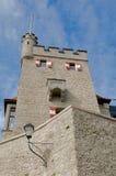 Freyschlösschen (Red tower) -  Salzburg Stock Photos