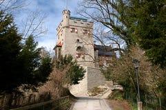Freyschlösschen (Red tower) -  Salzburg Royalty Free Stock Photo