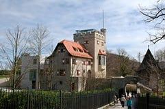 Freyschlösschen (Red tower) -  Salzburg Royalty Free Stock Images
