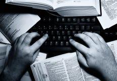 författare Arkivbild