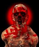 Förfärlig Zombie Arkivfoton
