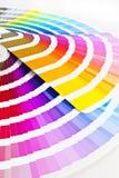 färg vägleder två Arkivbilder