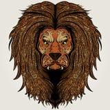 Färgad lejonbrunt Royaltyfri Foto