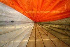färgglatt paraply Arkivfoto