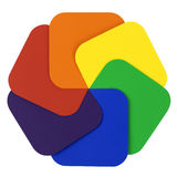 färghjul Fotografering för Bildbyråer