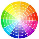 Färghjul Arkivbilder