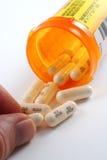förgiftar mediciner Arkivbilder