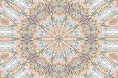 färgkaleidoscopemodell Royaltyfri Fotografi
