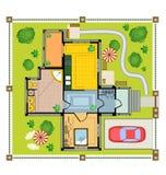 färglandsplan Fotografering för Bildbyråer