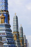 färgpagodas Arkivbild