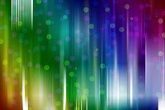 Färgrik de fokuserad bakgrund för cirkelljusabstrakt begrepp Fotografering för Bildbyråer
