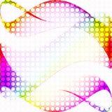 färgrik design för abstrakt bakgrund Royaltyfria Bilder