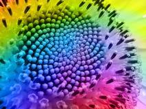färgrik geometri Arkivfoto
