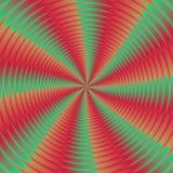 Färgrik illustration av psykopatspiralen Royaltyfria Foton