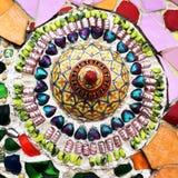 Färgrik keramisk garnering Arkivbilder