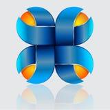 Färgrik konstnärlig design Royaltyfri Bild