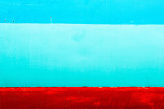 Färgrik målning på stålyttersida Fotografering för Bildbyråer
