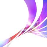 färgrik orienteringsswoosh Arkivfoton