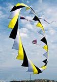 färgrik sky Royaltyfri Fotografi