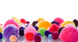 färgrik soft för bollar Arkivfoto