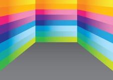 Färgrik spectrumbakgrund Royaltyfri Bild